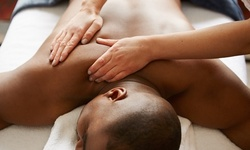 60-Minute Father's Day Package: Deep-Tissue Massage, Hand and Foot Treatment, and Scalp Massage (Up to 66% Off)