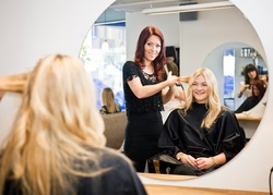 Up to 40% Off on Salon - Haircut - Women at Shear Reflections Salon and Spa